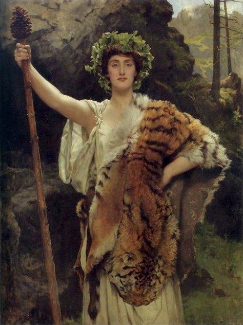Priestess of Bacchus_public domain