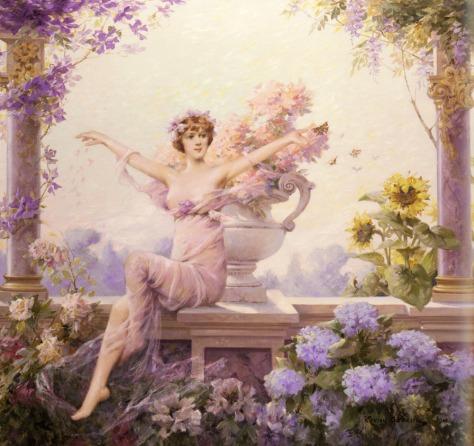 Spring Goddess_public domain