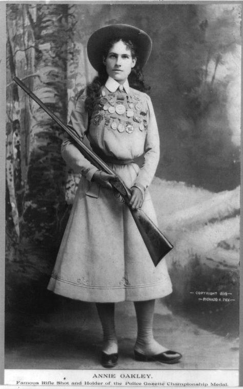 Annie Oakley_public domain