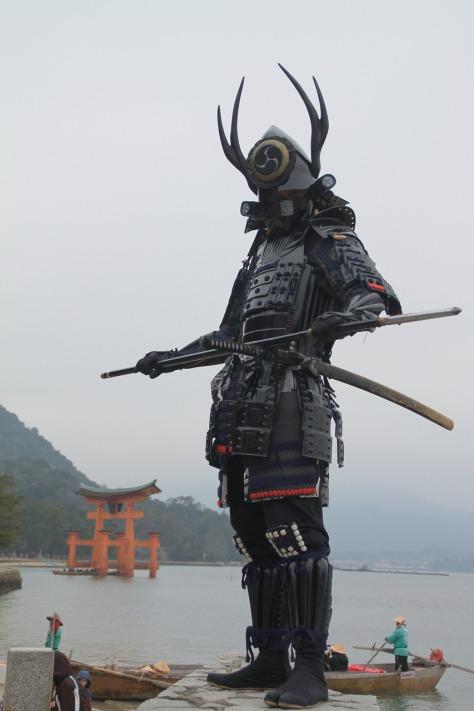 Samurai Japan Miyajima Itsukushima Hiroshima