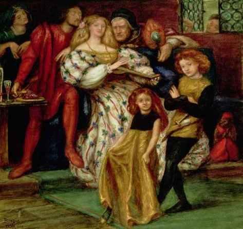 The_Borgia_Family_by Dante Gabriel Rossetti_public domain
