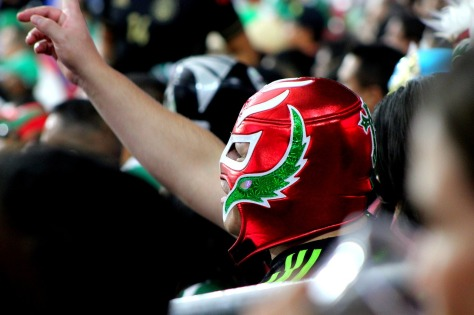 Mexican wrestling fan_free